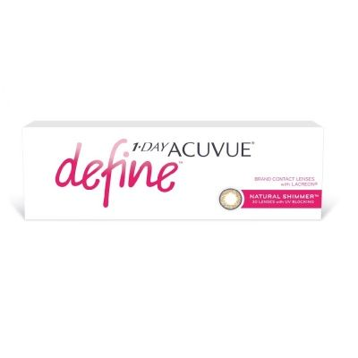 Acuvue 1-Day Define NATURAL SHIMMER (30 линз)