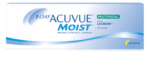 1-Day Acuvue Moist Multifocal (30 линз) Mid
