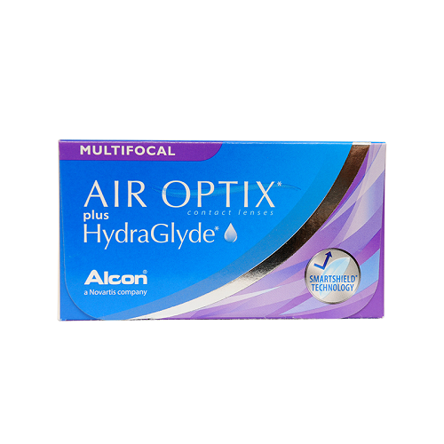 Air Optix plus HydraGlyde Multifocal (3 линзы) Med