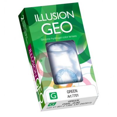 Belmore Illusion Colors Geo Nature (2 линзы)