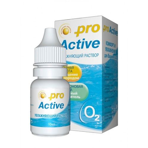 Капли Optimed Pro Active, 10 мл