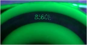 лазерная маркировка на ОК-линзе